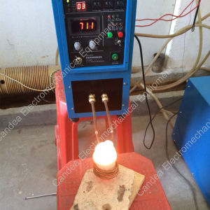 portable Induction Heater Furnace for Melting 0.5-5kg of Gold Silver Copper and Bronze