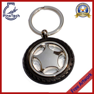 Car Wheel Keychain, Custom Car Promotion Gift Keychain