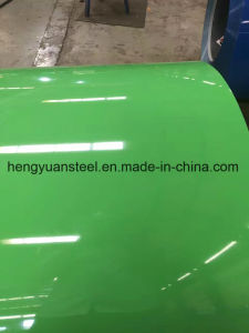 Customized Color and Paint Coating PPGI Color Coated Steel Coil pictures & photos