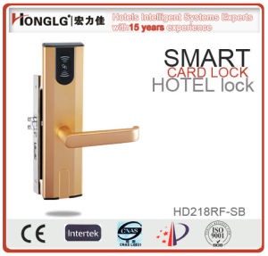 2016 Hot Selling Hotel Card Security Door Lock (HD218) pictures & photos