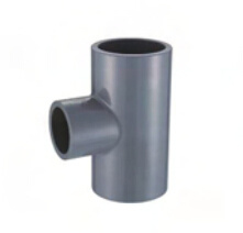 PVC Pipe Fitting Reducing Tee (BS4346) pictures & photos