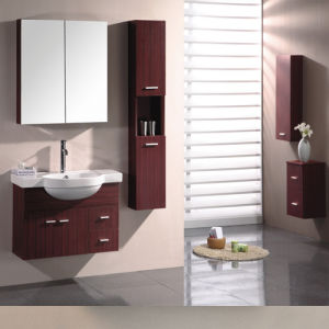 Melamine Surface Bathroom Vanity with Good Quality (SW-PB183) pictures & photos