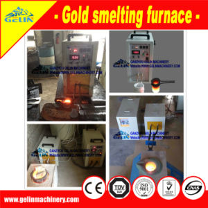 Induction Gold Smelt Furnace Gold Refine Machine for Precious Metal Mineral Processing pictures & photos
