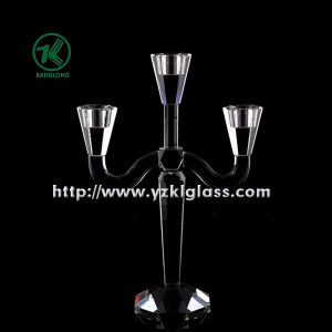 Crystal Candle Holders with Three Posts by BV pictures & photos