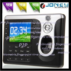 Zk 3.2 Inch TFT Color Screen Fingerprint Real Time Recorder Biometric Attendance Machine pictures & photos