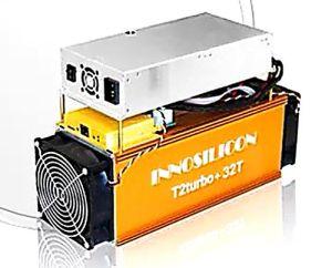 Innosilicon T2 Turbo + (T2T+) , 32th/S, 2180W, Sha256 (BTC miner)