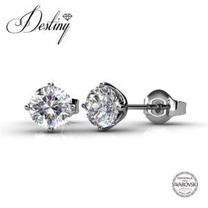 Destiny Jewellery Crystal From Swarovski Classical Earrings