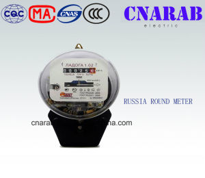 Russia Single Phase Round Mechanical Meter pictures & photos