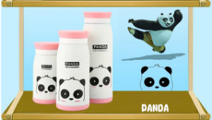 China Factory Outlet Panda Heat Transfer Baby Water Bottles Printing Film pictures & photos