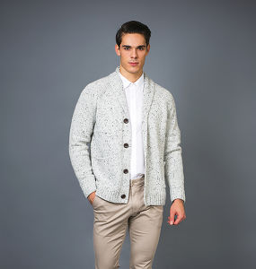 Men′s Fashion Cashmere Sweater 17brpv084 pictures & photos