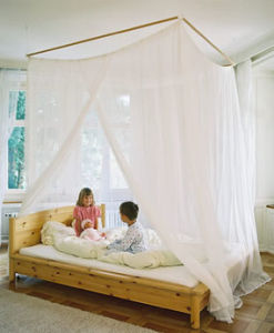 Emf Shielding Bed Canopy Fabric Silver Mesh