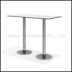 Two Legs Compact Long Bar Table for 4-6 People (SP-BT673) pictures & photos