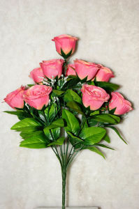 Artificial Flower Rose Bouquet