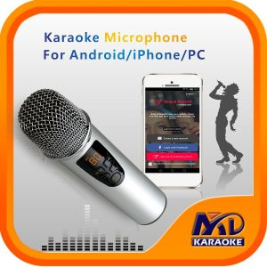 Mixer Microphone for Andriod iPhone PC TV with Original Songs Vocal on/off Function