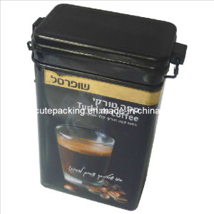 FDA Approved Rectangular Coffee Tin Box (CT03)