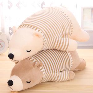 China Large Plush Stuffed Animal Pillow Soft Huggable Bulldog Doll