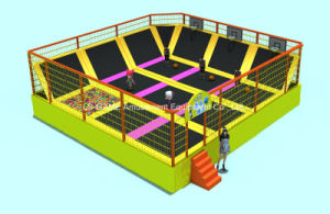 Indoor and Outdoor Playground Equipment Trampoline for Kids and Adults pictures & photos