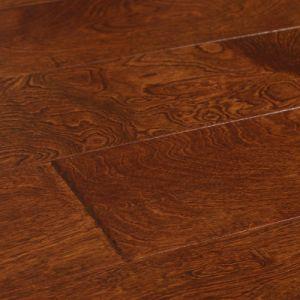 China Easy Installation Waterproof Engineered Hardwood Flooring Sports Floor Panel Oak