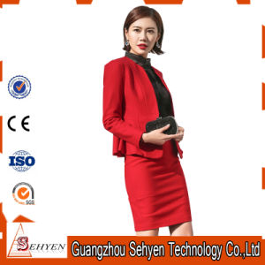 China Top Quality Ladies Office Formal Wear Women Business Suit