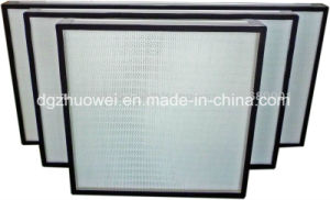 H13 Mini Pleat HEPA Filter for Clean Room pictures & photos