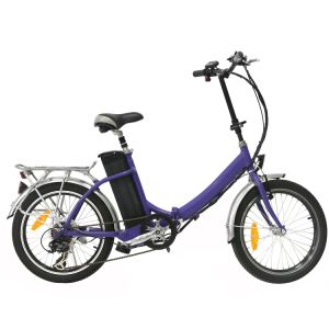 20′′ Kenda Brand Folding Little Electric City Bike for Adult En15194