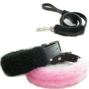 Fluffy Super Warm Dog Collar and Leashes pictures & photos