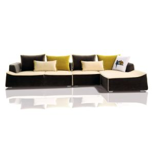 Hot Sell Furniture Modern Design Living Room Fabric Sofa (F863)