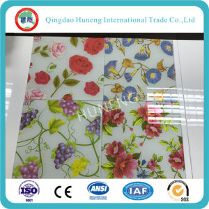 China Beautiful New Design Decorative Glass