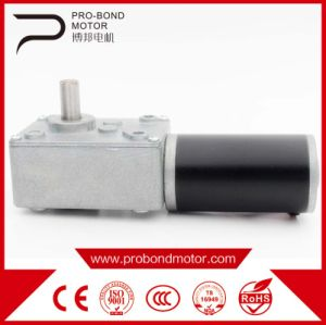 Hot Sale High Quality DC Worm Gear Motor with Reduction pictures & photos