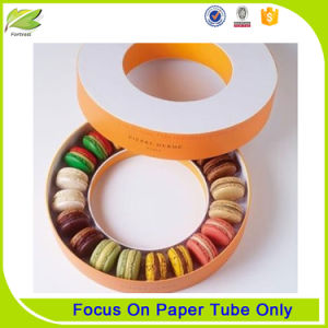 Wholesale Recycled Round Shape Paper Cake Box for Candy Cookie pictures & photos