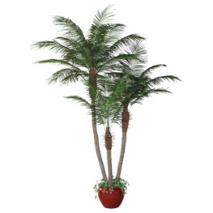 Artificial Phoenix Palm Tree with Pot
