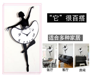 Living Room Decoration Acrylic Fashion Wall Clock pictures & photos