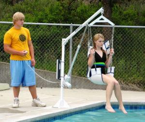 Pool Lift / Boat Access