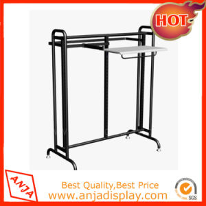 Rolling Garment Rack Portable Clothes Hanger Rail Rack pictures & photos