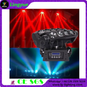 8X12W RGBW 4in1 Stage Spider LED Moving Head Beam Light pictures & photos
