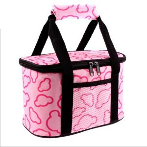 Customized 600d Cooler Bag Lunch Bag with Handle