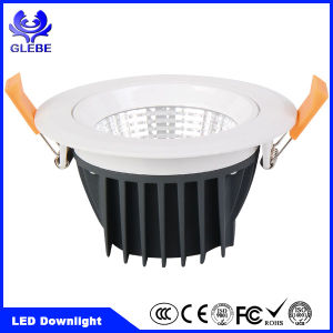 Dimmable White 5W 10W 15W 20W COB LED Downlight with Cutout 70mm pictures & photos