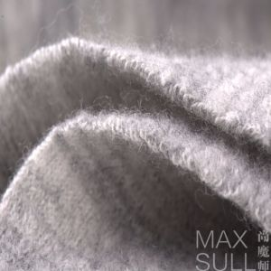 Gray 100% Wool Fabric for Autumn and Winter Season
