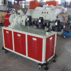 110mm PE PP Pipe Single Screw Extruder Machine Customized Low Noise