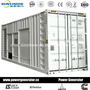 700kw Heavy Duty Industrial Generating Set with Mitsubishi Engine pictures & photos