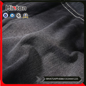 New Coming Trendy Style Colored Knitting Denim Fabric pictures & photos
