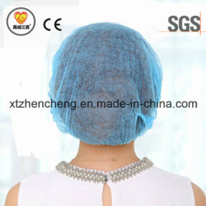 Disposable Single Elastic Strip Type Mob Cap for Medical