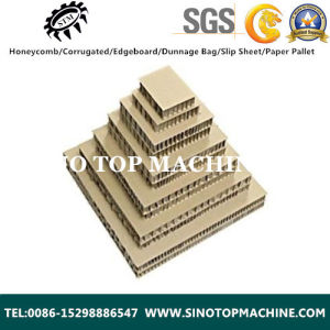 100% Recycle Paper Corrugated Honeycomb Board pictures & photos
