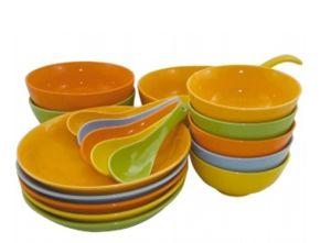 China High Quality Pretty Plastic Plates Plastic Bowl Spoon ...