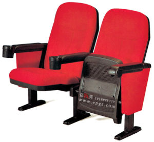 Hot Selling Cinema Seating Chair with Cup Holder (EY-162) pictures & photos