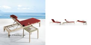 Rattan Beach Bed of Outdoor (5026)