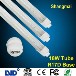 High Lumen Efficiency 1.2m 18W T8 R17D LED Tube Light Cool White