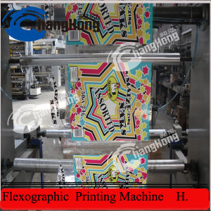 (CE) 6 Color Plastic Film Bag Printing Machine (CH886) pictures & photos