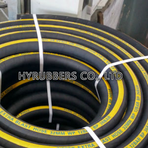 Sandblast Hose with Fabric Insert Manufacturer Black Color pictures & photos
