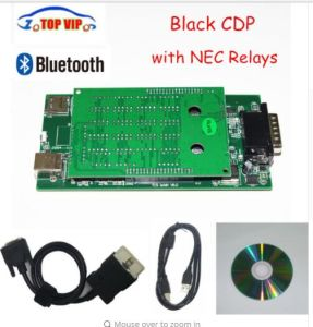 Black Cdp 2015 R1 Newest Cdp New Vci Tcs Cdp Bluetooth Cdp PRO OBD2 Scanner Tcs PRO Plus Diagnostic Tool for Cars & Trucks pictures & photos